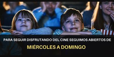 ABRIMOS DE MIÉRCOLES A DOMINGO